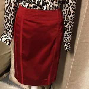 WHBM pencil skirt Sz 4